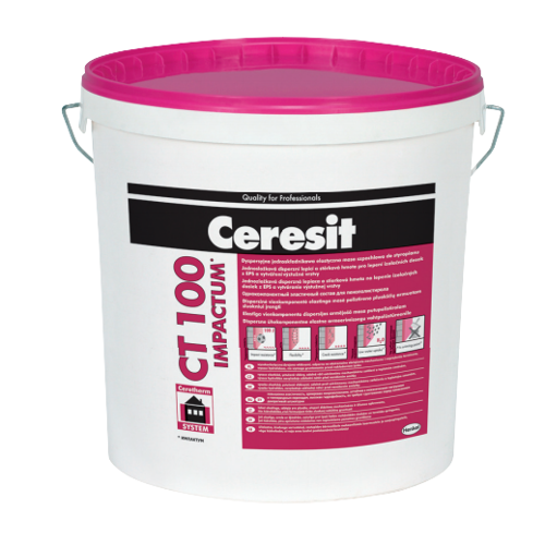 Ceresit CT100 Impactum - Highly Flexible Dispersion Reinforcing Compound for Expanded Polystyrene