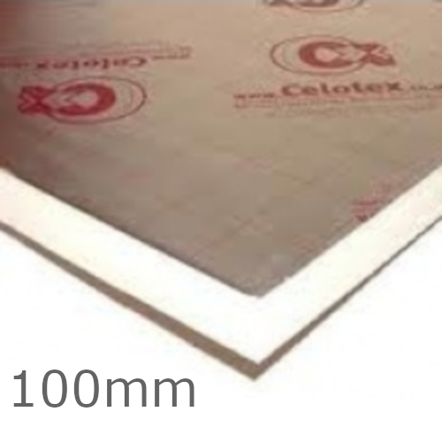 100mm Celotex GA4000 PIR Insulation Board