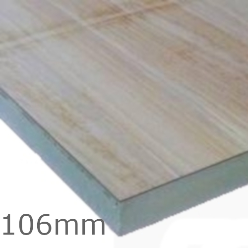 106mm Celotex Td4000 Pir Insulation Board With Plywood