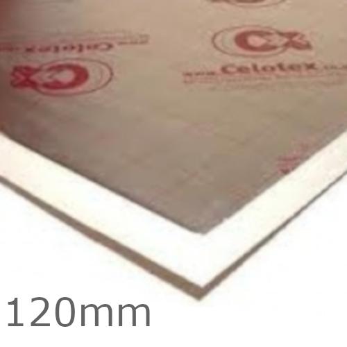 120mm Celotex XR4000 PIR Insulation Board - XR4120