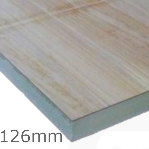 126mm Celotex Td4000 Pir Insulation Board With Plywood Warm Deck Insulation
