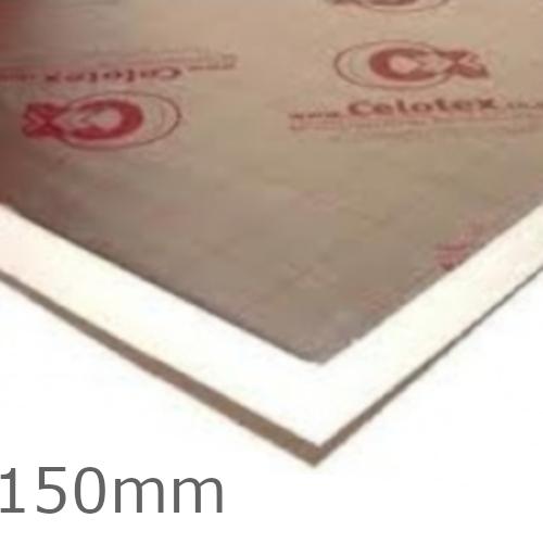 150mm Celotex XR4000 PIR Insulation Board - XR4150