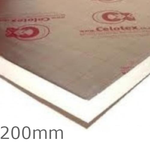 200mm Celotex XR4000 PIR Insulation Board (pack of 12) - XR4200