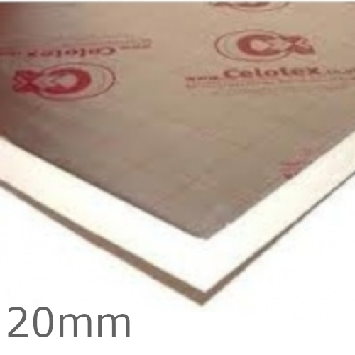 20mm Celotex TB4000 PIR Insulation Board - TB4020