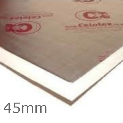 45mm Celotex TB4000 PIR Insulation Board - TB4045