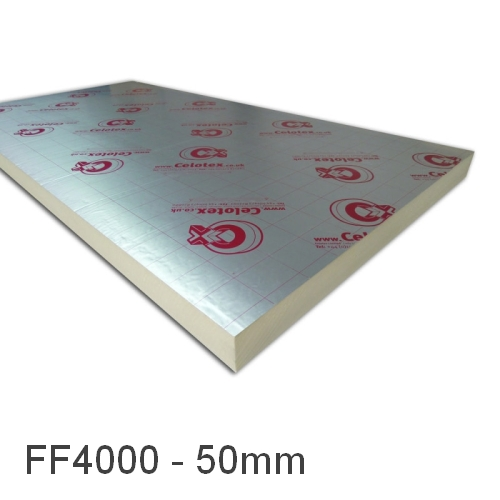 50mm Celotex FF4000 Underfloor Heating Board (pack of 24)