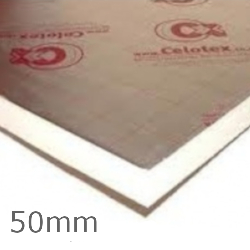 50mm Celotex GA4000 PIR Insulation Board