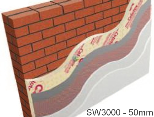 50mm Celotex SW3000 External Wall Insulation Board (pack of 10)