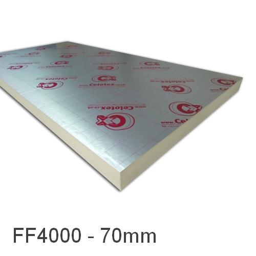 70mm Celotex Ff4000 Underfloor Heating Board Increased