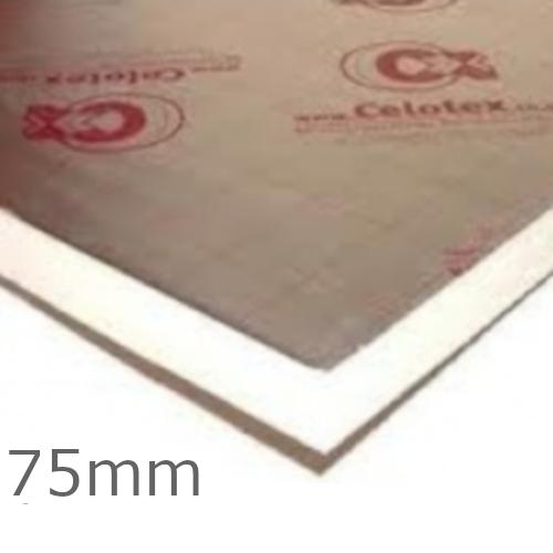 75mm Celotex GA4000 PIR Insulation Board - GA4075