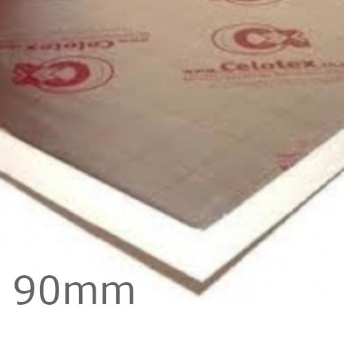 90mm Celotex GA4000 PIR Insulation Board - GA4090