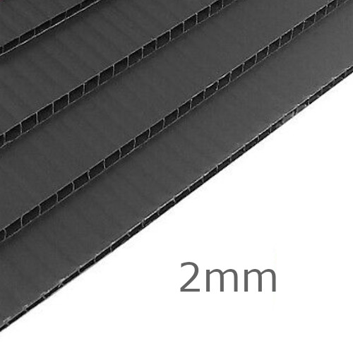 2mm Correx Protection Board 2440mm x 1220mm