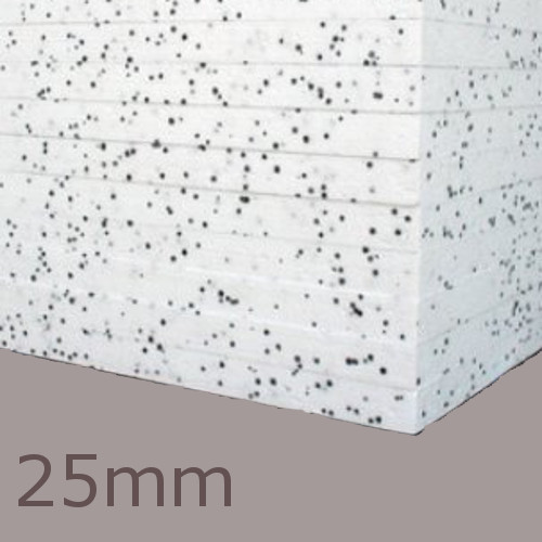 25mm EPS70 Polystyrene Insulation Board Jablite (pack of 12)