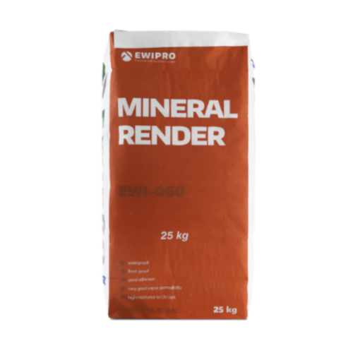 EWI-060 Mineral Render - 25kg bag