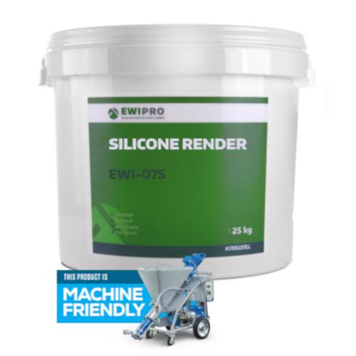 EWI-075 Silicone Render - 25kg Tub - Various Colours