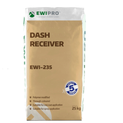 EWI-235 Dash Receiver -  Colour White - 25kg bag