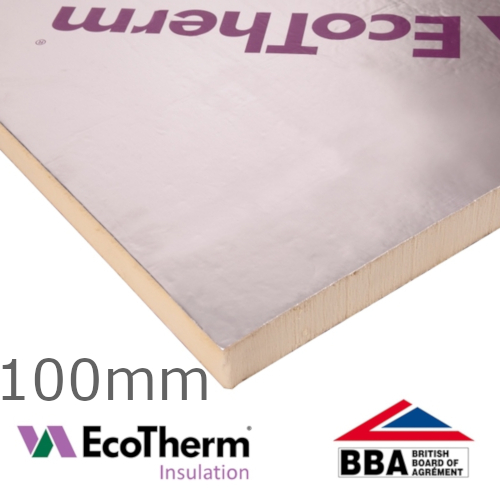 100mm EcoTherm EcoVersal PIR Insulation Board