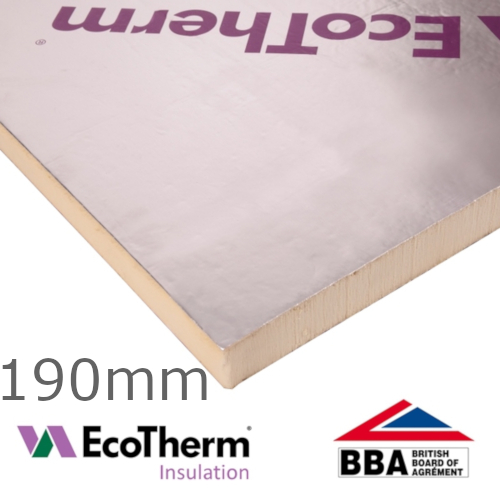 190mm EcoTherm EcoVersal PIR Insulation Board