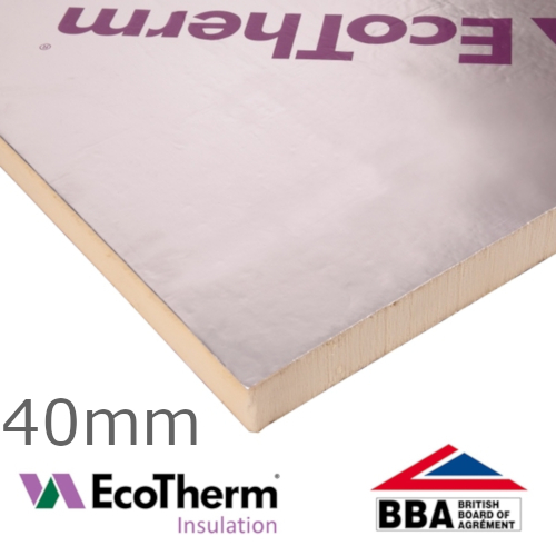 40mm EcoTherm EcoVersal PIR Insulation Board