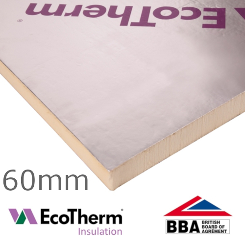 60mm EcoTherm EcoVersal PIR Insulation Board