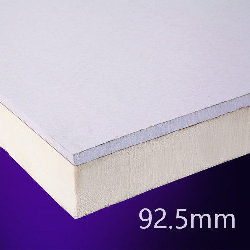 92.5mm EcoTherm EcoLiner PIR Insulated Plasterboard (pack of 8)