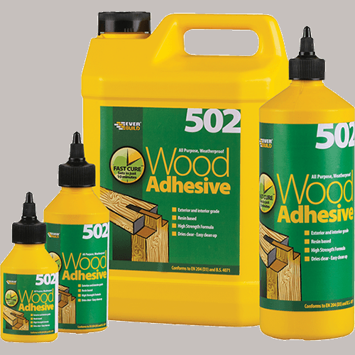 Everbuild All Purpose Weatherproof Wood Adhesive - 1 Litre