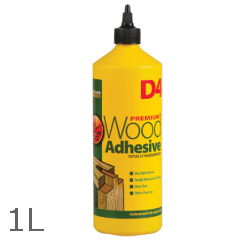 Everbuild D4 Wood Adhesive - 1 Litre - Recommended for JCW Products