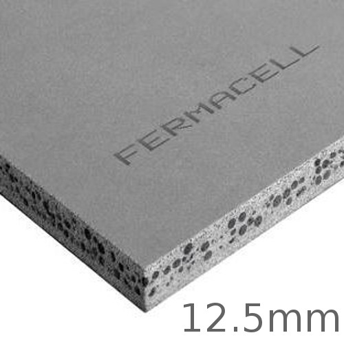 12.5mm Fermacell Powerpanel H2O Board for Internal and External Applications Exposed to High Levels of Moisture 1000x1200mm