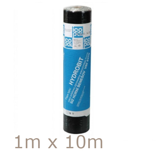 Icopal Roofing Felt Underlay 3mm Hydrobit V60 S30 Bitumen - Torch On - 1m x 10m - Pallet of 20 rolls
