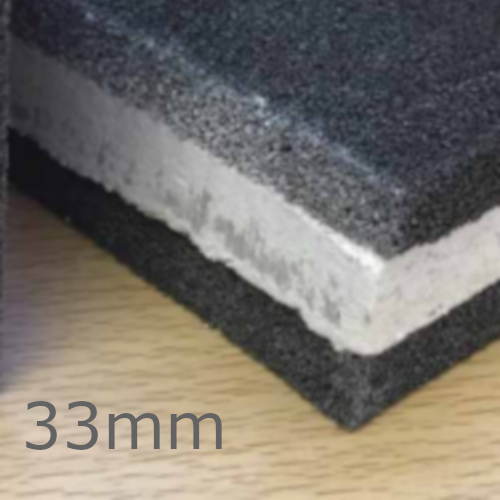 33mm Isocheck Isowave Cavity Barrier 33 - Underfloor and Above Ceiling Insulation