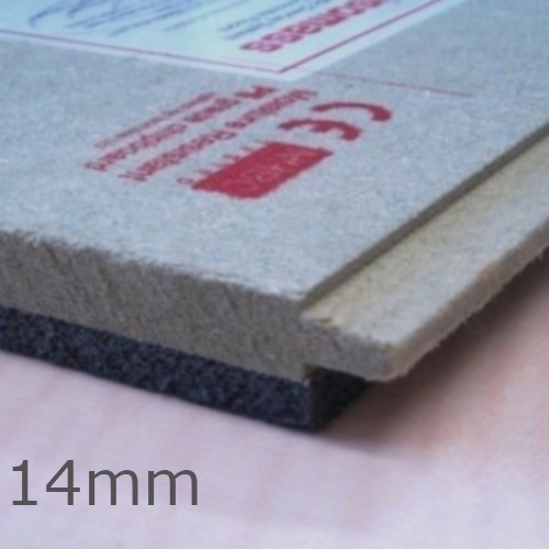 14mm Isocheck 14C Concrete Floor Acoustic Board