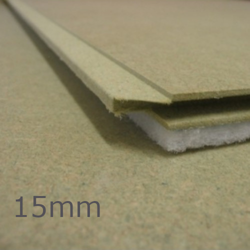 15mm Isocheck 15T Timber Floor Acoustic Overlay Board