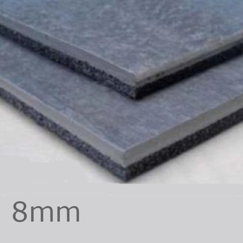 8mm Isocheck Impact Mat 200 -  Acoustic Underlay
