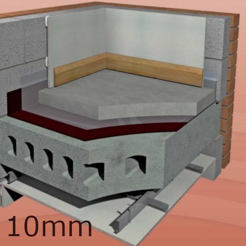Isocheck screedcheck concrete floor underlay for Concrete floor insulation