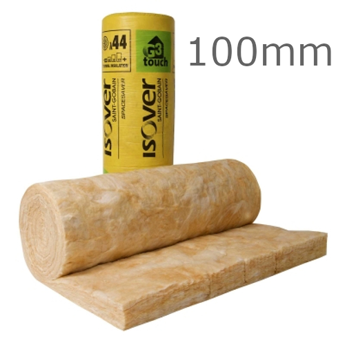 100mm Isover Spacesaver Loft Roll