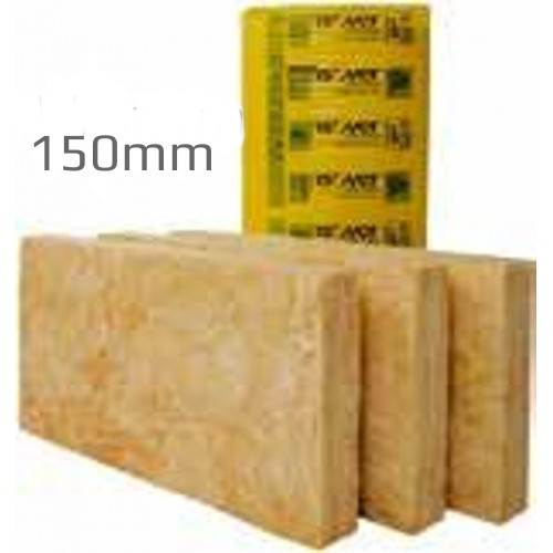 150mm Isover Timber Frame Batt 35 Glass Mineral Wool Insulation