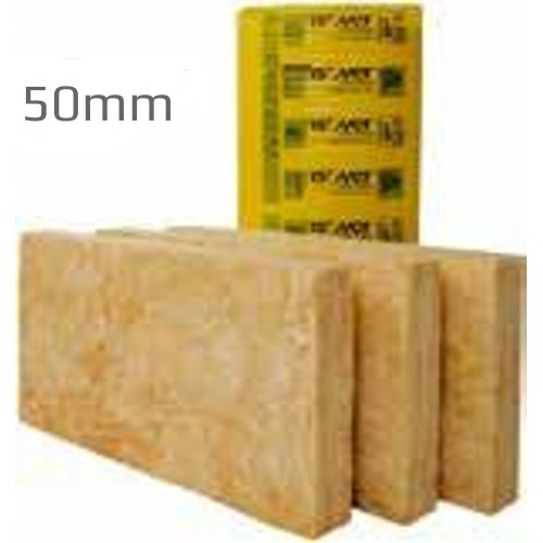 50mm Isover Timber Frame Batt 32 (Pack of 9) - 16 Packs per Pallet