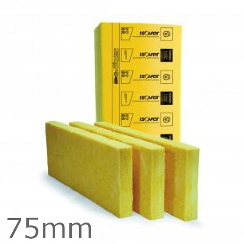 75mm Isover Cavity Wall Slabs (pack of 16)