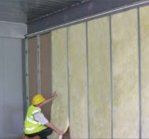 65mm Isover Acoustic Partition Roll Insulation For