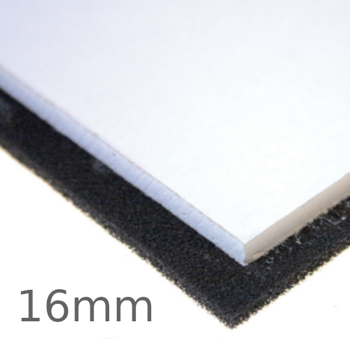 16mm JCW Noise Blocker Panel - 600mm x 600mm - Suspended Ceiling Insulation