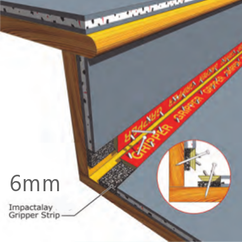 6mm JCW Impactalay Gripper Strip