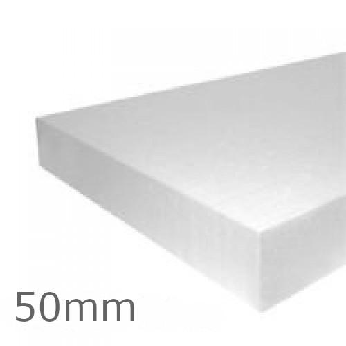 50mm EPS100 Polystyrene Insulation Board Jablite (pack of 6)