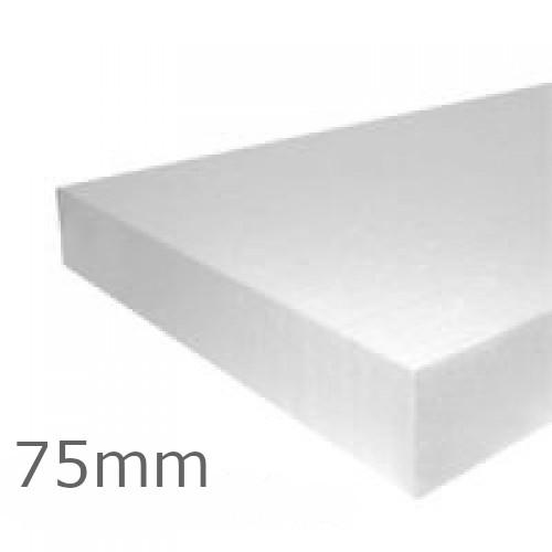 75mm EPS100 Polystyrene Insulation Board Jablite (pack of 4)