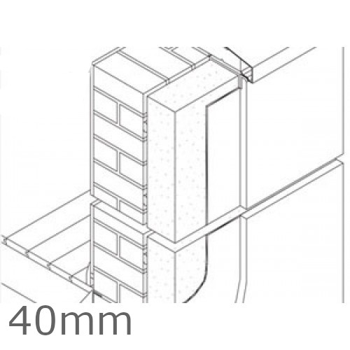 40mm Jablite External Wall Polystyrene Insulation Board EPS