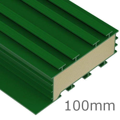 100mm kingspan thermabate cavity closer 3m length pack of 10 for 100mm kingspan floor insulation