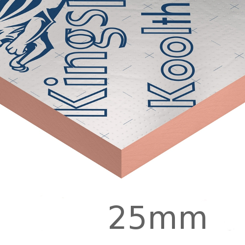 25mm Kingspan Kooltherm K107 Pitched Roof Board (pack of 12)