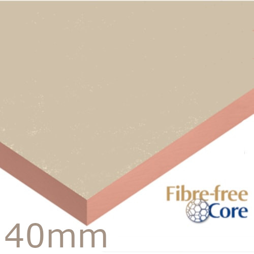 Single Board 40mm Kooltherm K5 External Wall Insulation Board Kingspan - 1200mm x 400mm