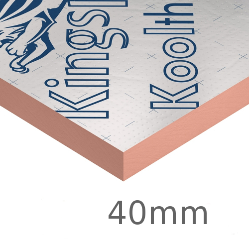 40mm Kingspan Kooltherm K107 Pitched Roof Board (pack of 8)
