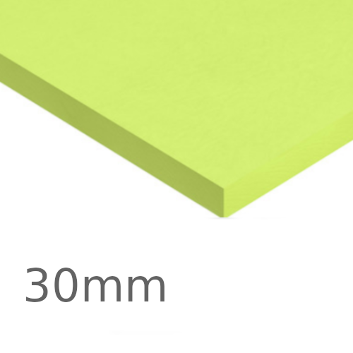 30mm Kingspan GreenGuard GG300 XPS Board (pack of 14) - Insulation for Basements, Heavy-duty Floors, Inverted Roofs