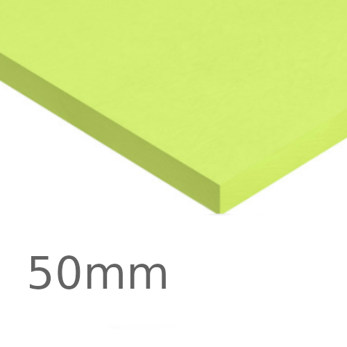50mm Kingspan GreenGuard GG500 XPS Board (pack of 8) - Insulation for Car Park Decks, Heavy-duty Industrial, Commercial and Cold Store Floors